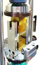 MKS卓上型圧縮試験機(アタッチメント装着時)